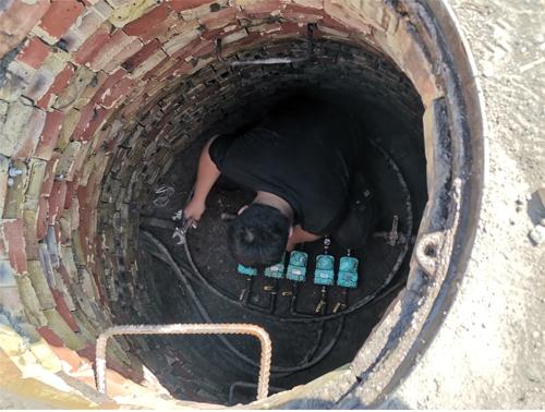 无线电子智能远传水表井下安装